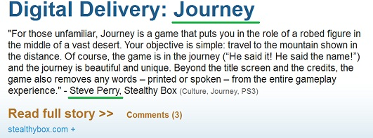 journey by steve perry